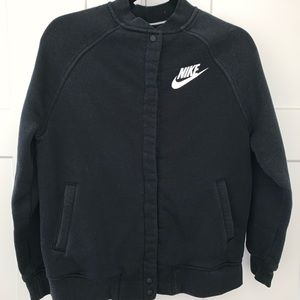 Nike bomber sweater